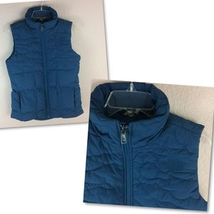 The North Face Rhea Down Vest Monterey Blue NWT